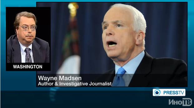 Бывший сотрудник АНБ: Джона Маккейна следует отправить в психиатрическую клинику