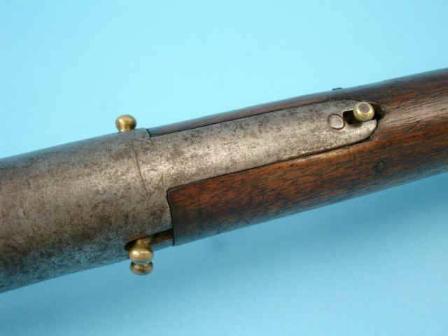 Четырехствольный кремневый пистолет — копье начала 18 века