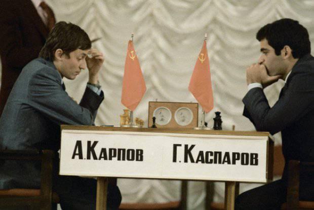 Chess and politics. Match Karpov-Kasparov and the Orange Revolution