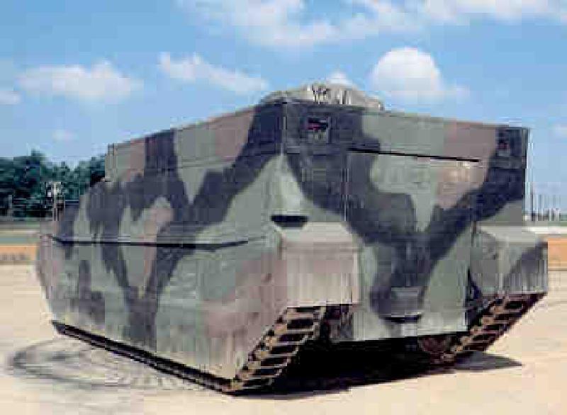 """Проект """"невидимого"""" танка Composite Armored Vehicle (CAV), полностью изготовленного из композиционных материалов"""