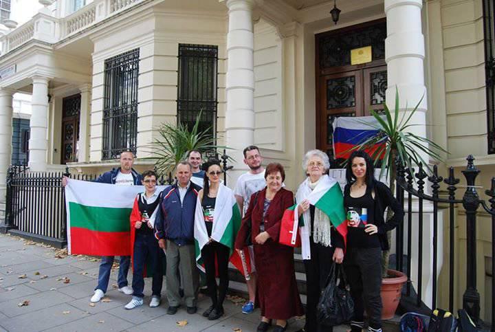 Bulgar halkı Rusya için ayağa kalktı
