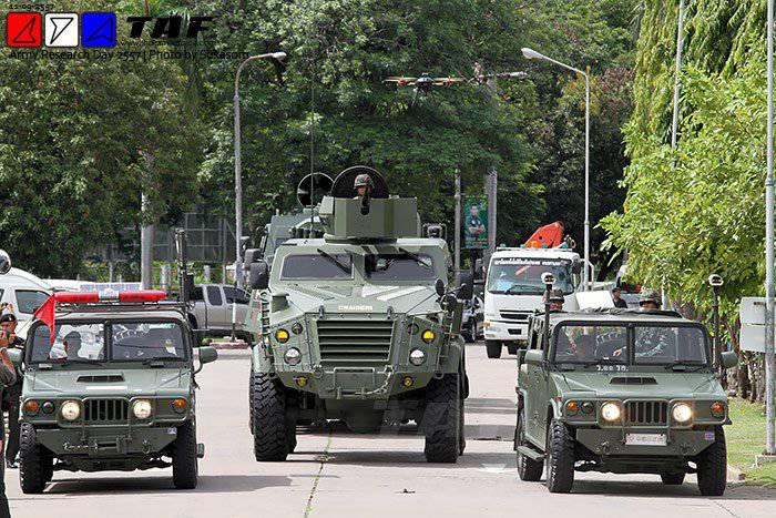 Новая военная техника таиландской разработки