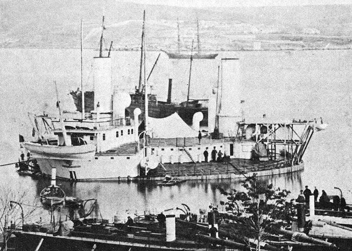Guerra de Crimea y el desarrollo de la marina de vapor del Imperio ruso