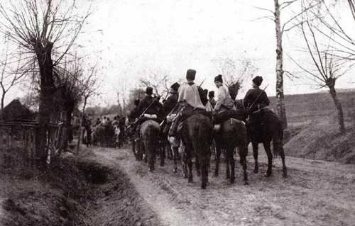 A derrota dos exércitos austro-húngaros na batalha de Gorodok