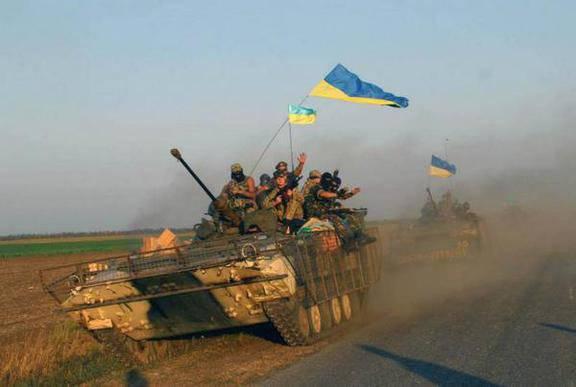 Украинские силовики готовят контрнаступление