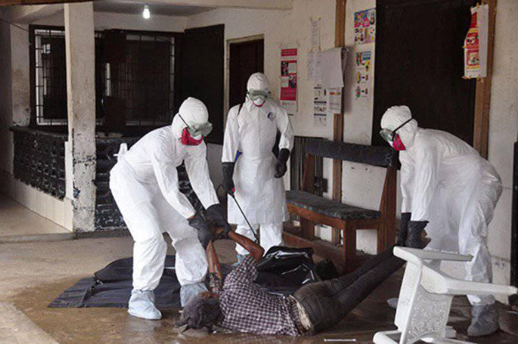 L'OMS publie une carte de distribution du virus Ebola