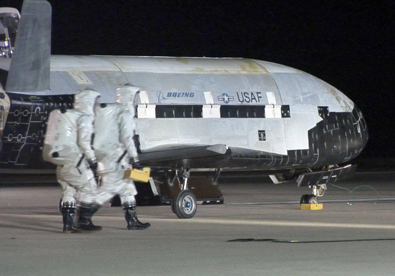 Беспилотный американский аппарат X-37B находится на орбите уже более 600 дней