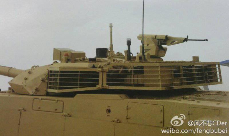 Основной танк VT4 (Китай)