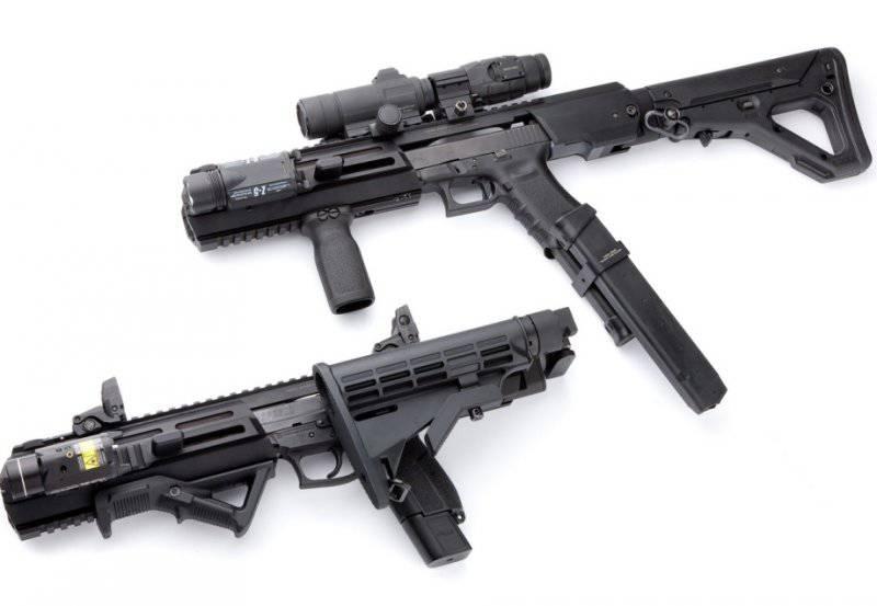 Комплект конвертации пистолета в карабин Triarii от компании Hera Arms