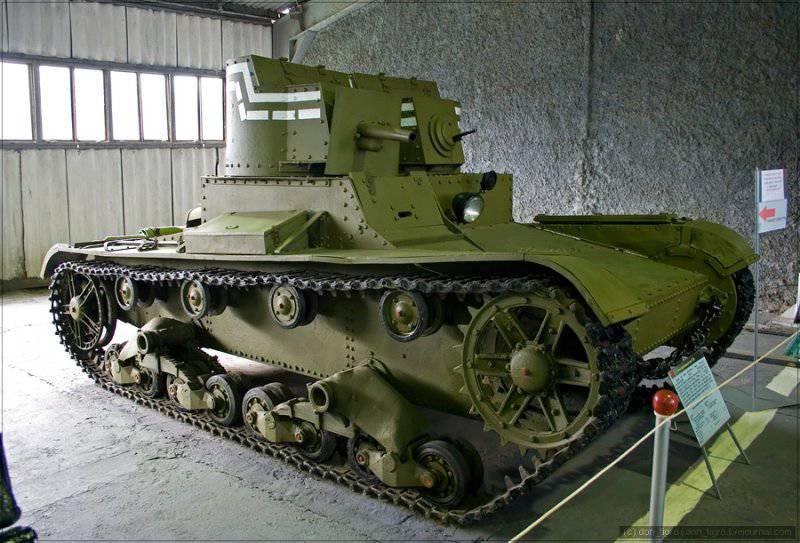 Многобашенные танки СССР. Часть 1. Двухбашенные Т-26