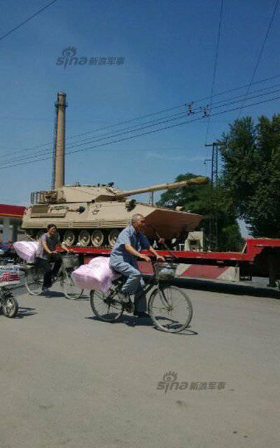 В Китае создана новая боевая машина