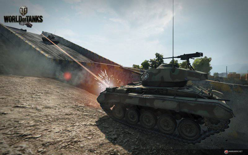 World of Tanks включает «нитро»
