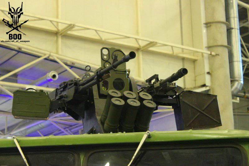 На выставке «Оружие и безопасность-2014» представлен новый боевой модуль