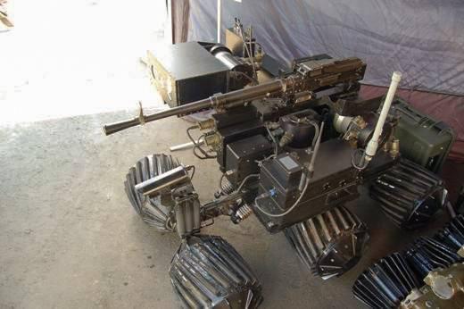 В России представили нового колёсного робота