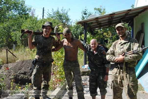 Сводки от ополчения Новороссии за 30 сентября 2014 года