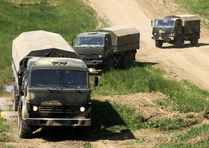 Связисты общевойсковой армии ЮВО получили новейшие образцы спецтехники