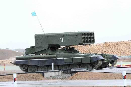 На базе платформы 'Армата' будет создана новая тяжелая огнеметная установка небывалой разрушительной силы
