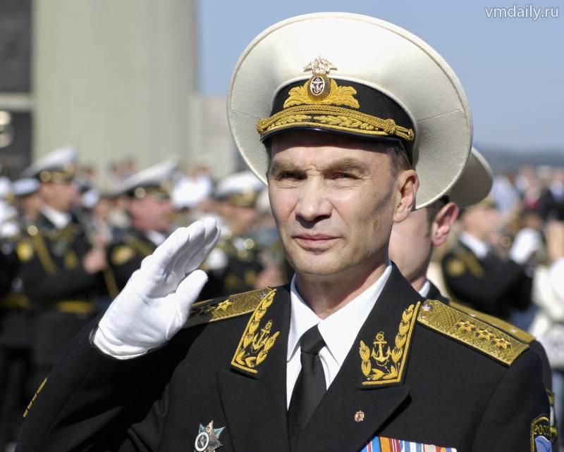 8 अक्टूबर - एक सतह, पानी के नीचे और वायु जहाज के कमांडर का दिन