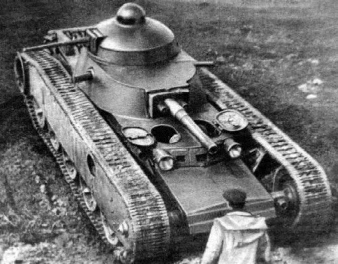 Многобашенные танки СССР. Часть 3. Танк Гроте (ТГ)