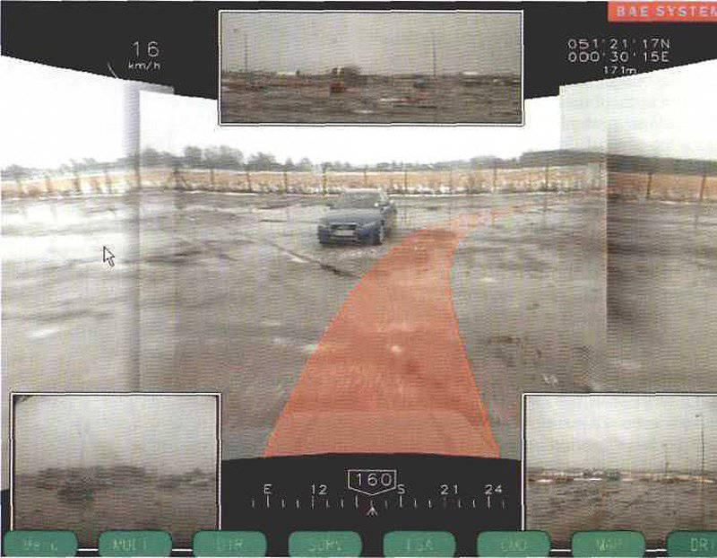 Arkanda Bir araç için dairesel görme teknolojisinin geliştirilmesi yeni ufuklar yaratır