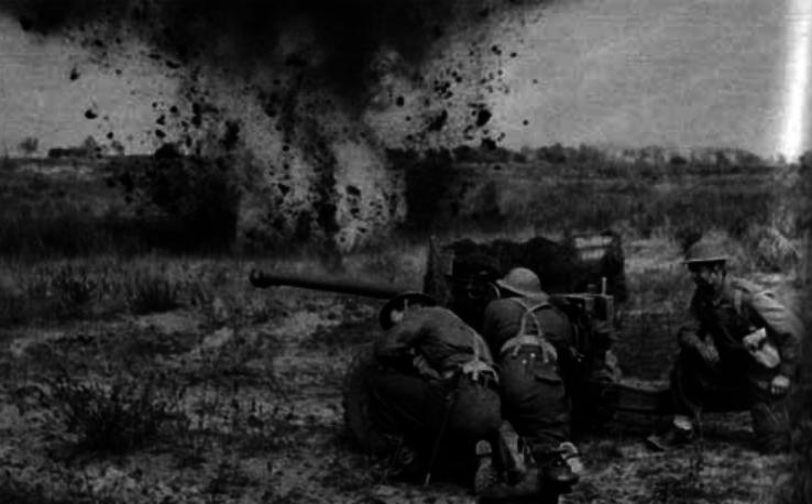 Britische Panzerabwehrartillerie im Zweiten Weltkrieg