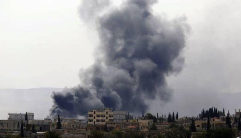 Курды начали вытеснять исламистов из сирийского города Кобани. Пентагон заявляет о сотнях уничтоженных боевиков