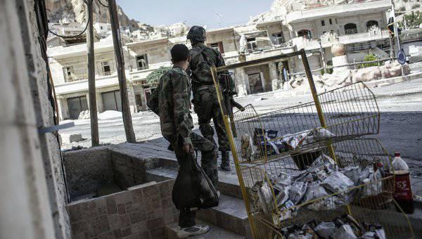 Сирийские военные уничтожили штаб «Исламского государства» в северо-восточном районе страны