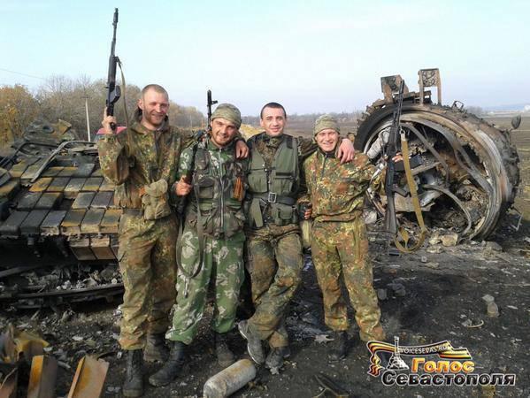Сводки от ополчения Новороссии за 18 октября 2014 год