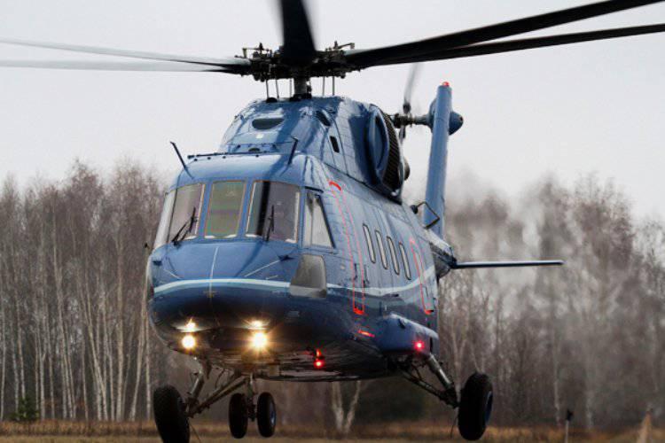 Предсерийный прототип Ми-38 совершил первый испытательный полёт