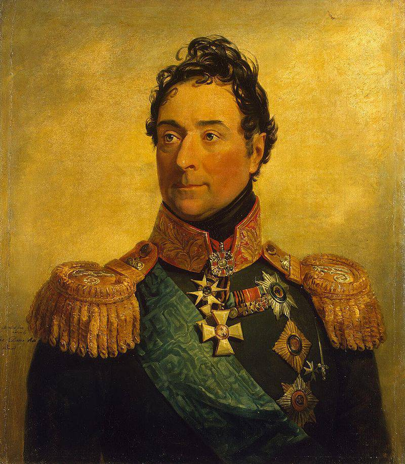 French nobleman in the Russian service
