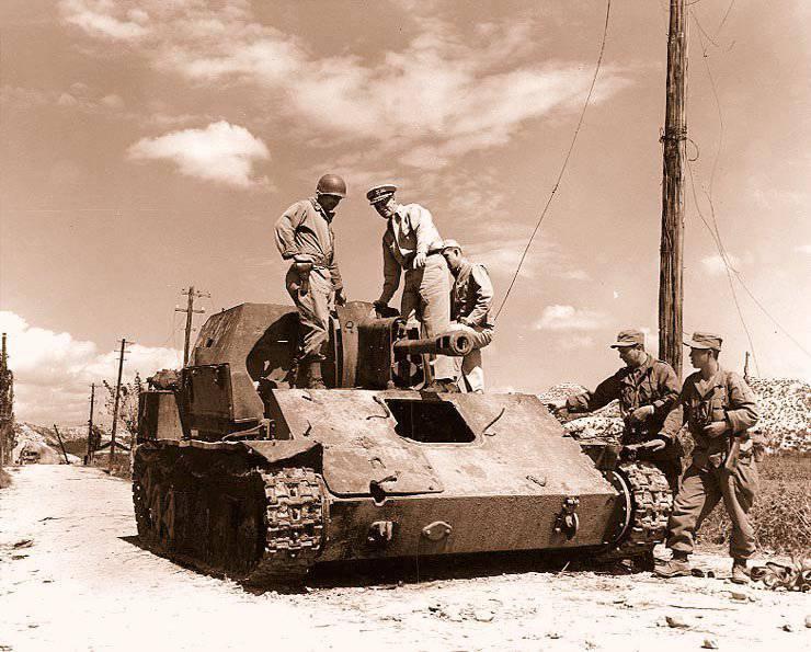कोरियाई पीपुल्स आर्मी का तोपखाना। 2 का हिस्सा। स्व-चालित बंदूकें