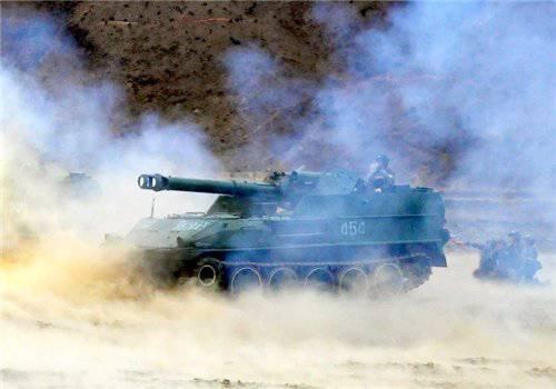 Артиллерия Корейской народной армии. Часть 2. Самоходные орудия