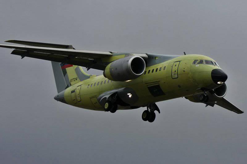 Voronezh Aircraft Building Society A OJSC construiu o próximo An-148 para o Ministério da Defesa da Federação Russa