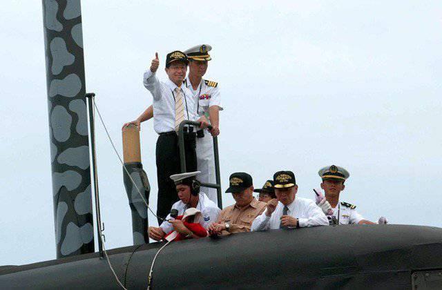 Тайвань создает собственную подводную лодку