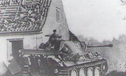 동 프로이센에 대한 첫 번째 공격. 3의 일부