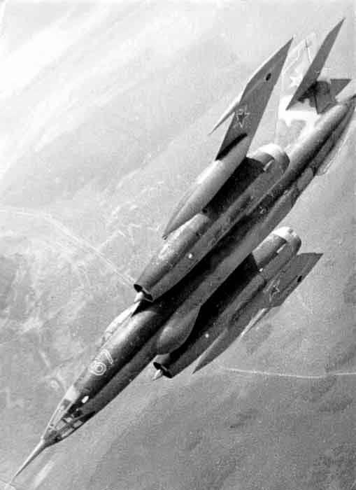 超音速前线轰炸机的路径。 7的一部分。 Yak-28,主要修改和设计。