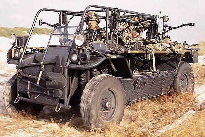 Operações de forças especiais de veículos de países estrangeiros. Parte do 1
