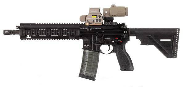 ドイツ連邦軍がヘックラー&コッホG38アサルトライフルを購入