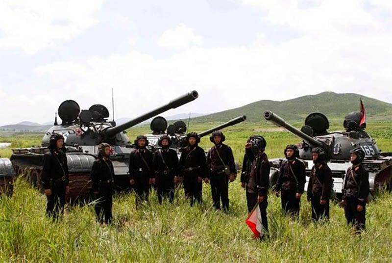 Северокорейские танки