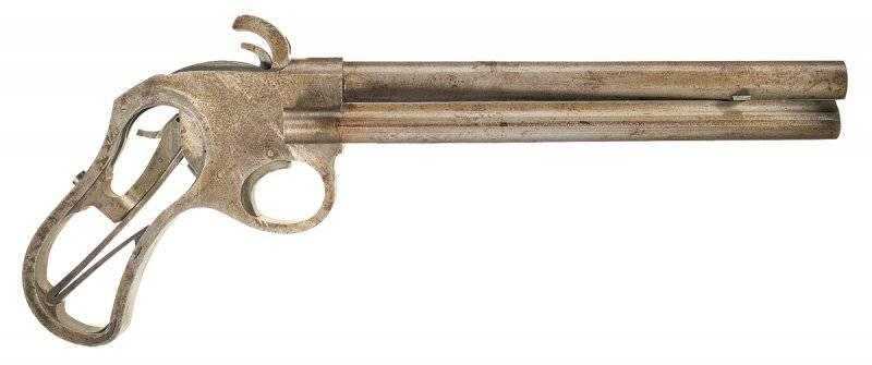 Магазинный пистолет Ремингтон Райдер (Remington Rider) и его разновидности