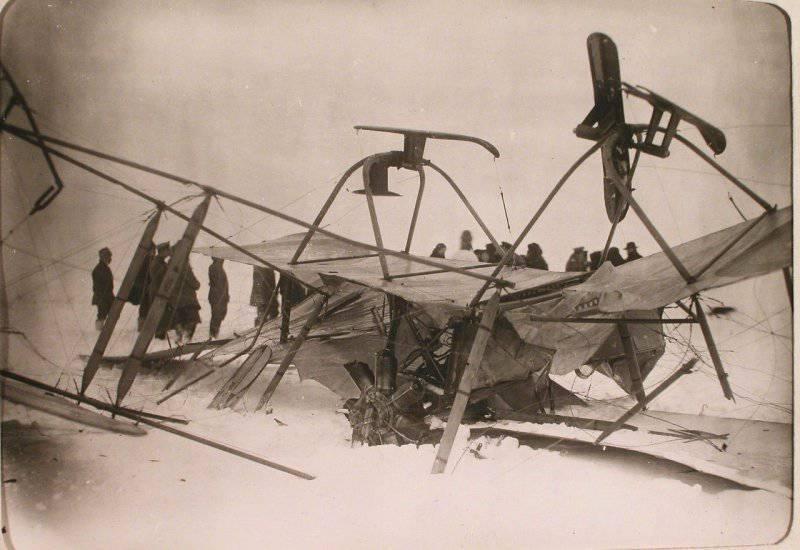 Авиационная рота и V дивизион при XII армии. 1915