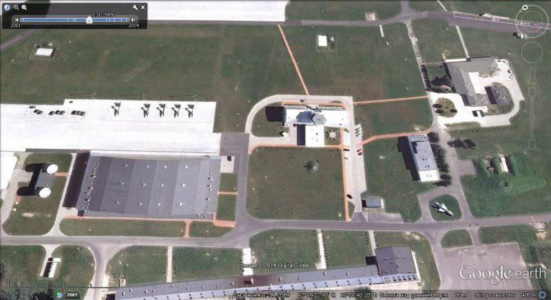 Военный потенциал НАТО в Европе на снимках Google Earth. Часть 3-я