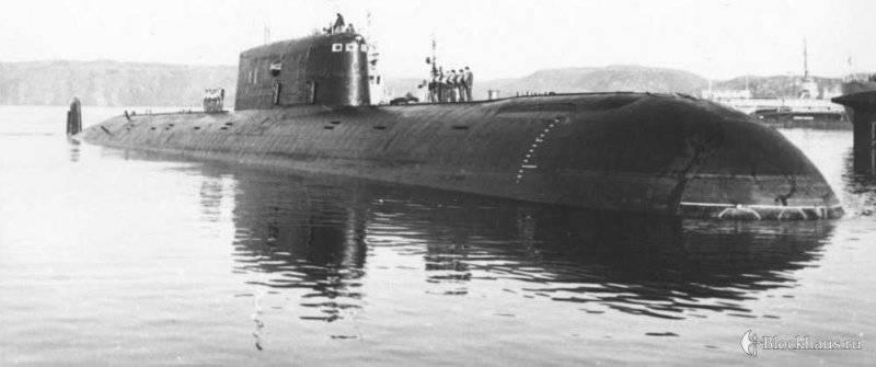 АПЛ К-278 Комсомолец