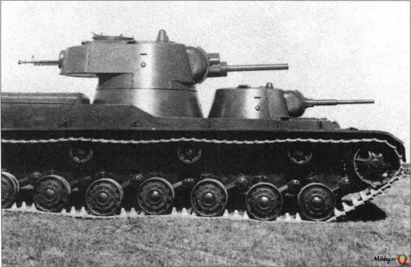 Многобашенные танки СССР. Часть 5. СМК