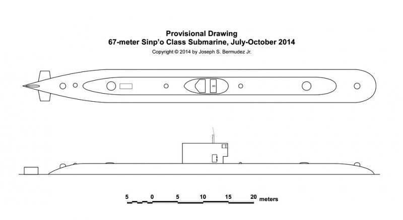 В КНДР построили новую подводную лодку