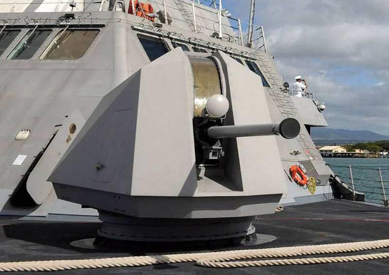Armas de navio calibre 57 mm da empresa BAE Systems