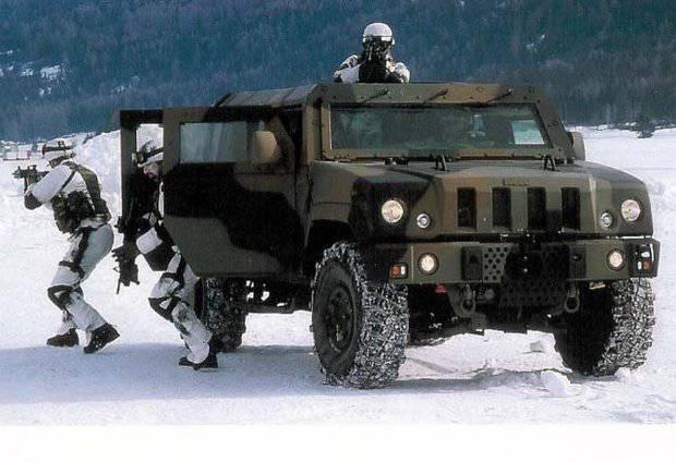 """СПМ-1 """"Тигр"""" или Iveco LMV: чем плох итальянский бронеавтомобиль?"""