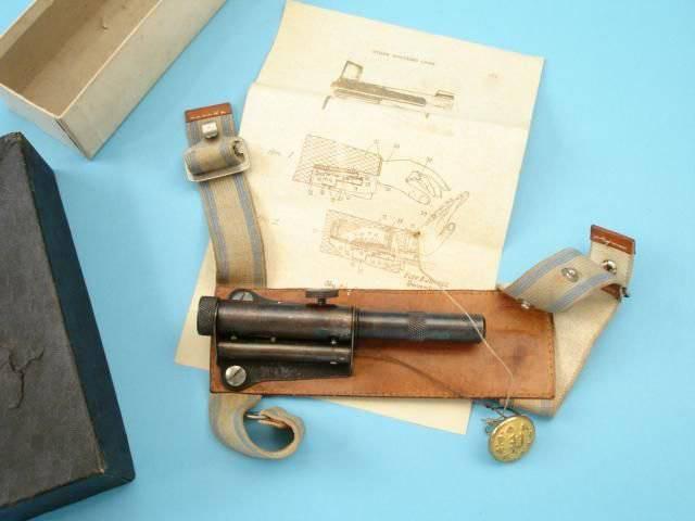 Огнестрельное оружие для шпионов США и Великобритании XIX-начала XX века
