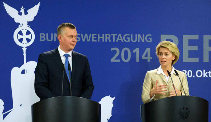 바르샤바는 Bundeswehr의 약점에 참석했다.