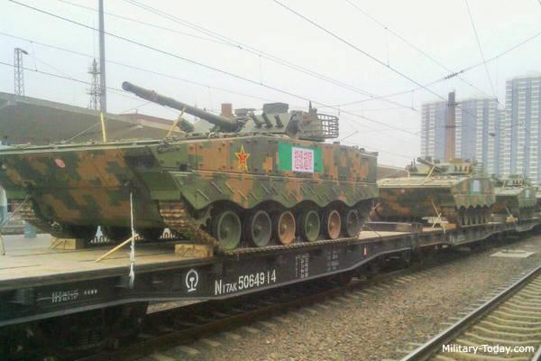 Новая китайская боевая разведывательная машина
